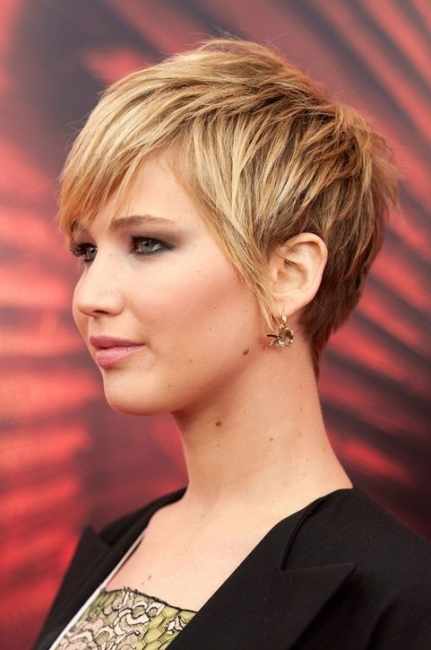 20 Popular Short Haircuts For Thick Hair – Popular Haircuts Inside Short Layered Hairstyles For Thick Hair (View 22 of 25)