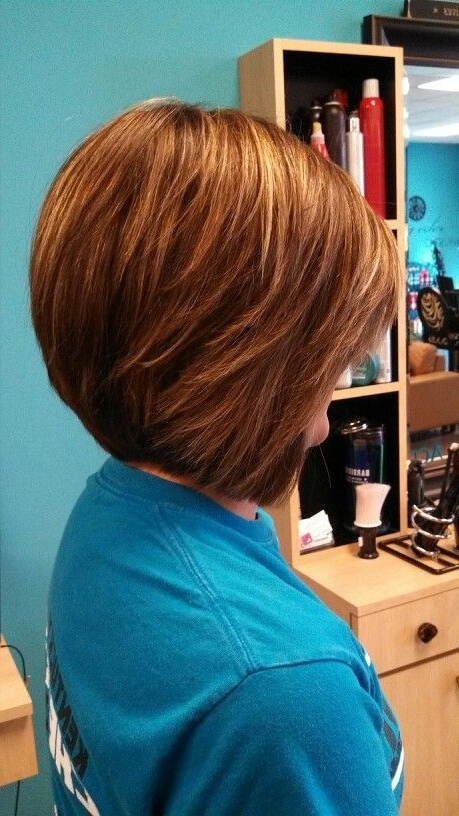 20 Pretty Bob Hairstyles For Short Hair – Popular Haircuts Inside Rounded Bob Hairstyles With Stacked Nape (View 5 of 25)