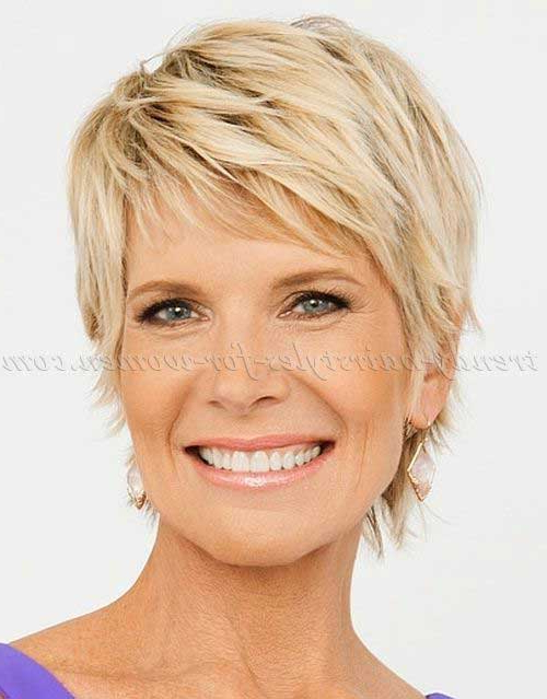 20+ Short Haircuts For Over 50 | Short Hairstyles 2018 – 2019 | Most With Regard To Blonde Pixie Haircuts For Women 50+ (View 13 of 25)