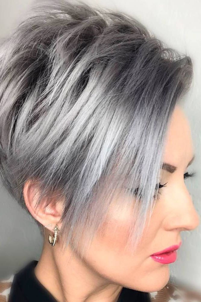 20 Trendy, Short Haircuts For Women Over 50 | Hair | Pinterest intended for Chic Blonde Pixie Bob Hairstyles For Women Over 50