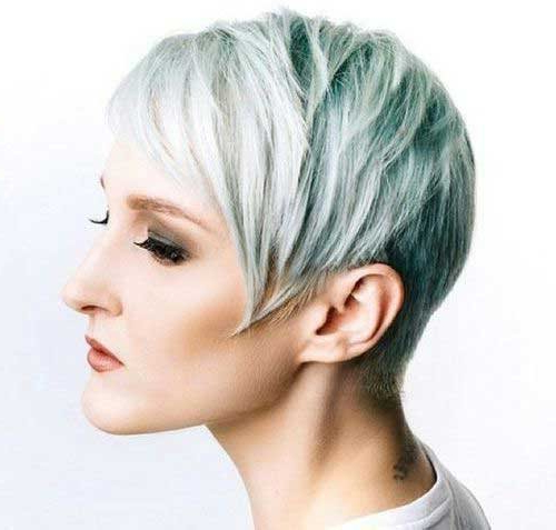 2018 Trend Short Pixie Cuts For Fine Hair – Hairstyle Fix With Long Ash Blonde Pixie Hairstyles For Fine Hair (View 5 of 25)