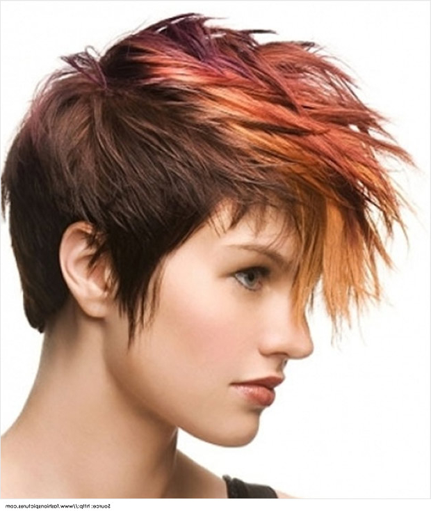 21 Short And Spiky Haircuts For Women | Styles Weekly With Two Tone Spiky Short Haircuts (View 19 of 25)