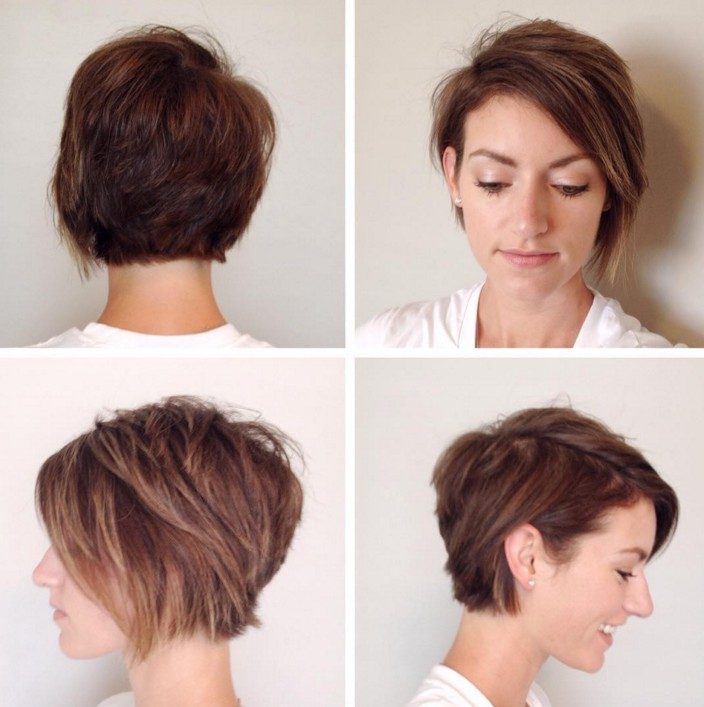 21 Stunning Long Pixie Cuts – Short Haircut Ideas For 2019 Pertaining To Asymmetrical Pixie Bob Hairstyles (View 7 of 25)
