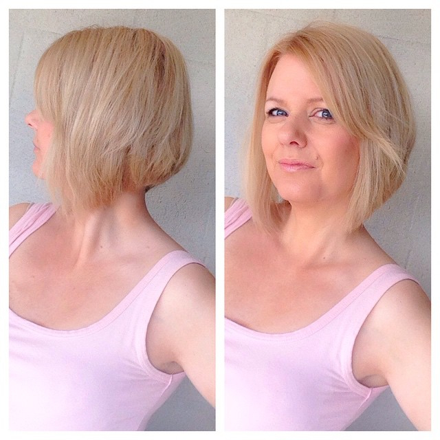 22 Cute Graduated Bob Hairstyles: Short Haircut Designs – Popular In Bouncy Bob Hairstyles For Women 50+ (View 17 of 25)
