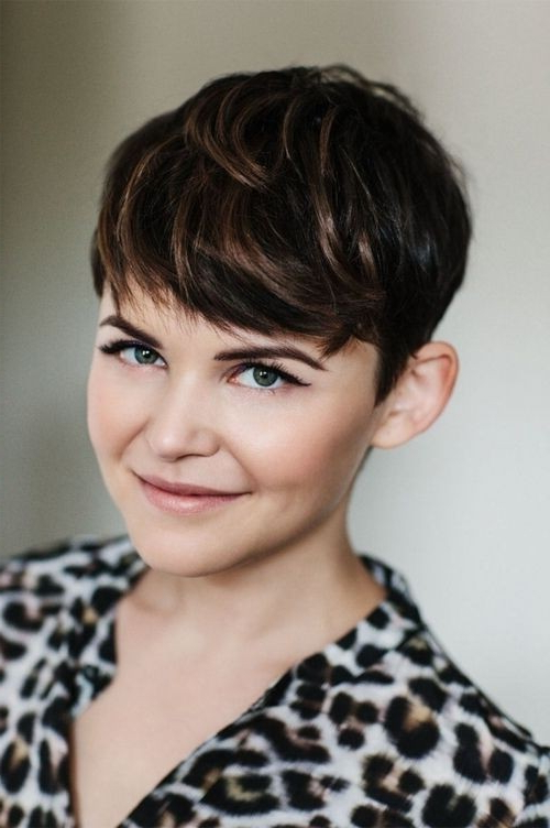22 Great Short Haircuts For Thick Hair – Pretty Designs For Messy Pixie Hairstyles With Chunky Highlights (View 19 of 25)