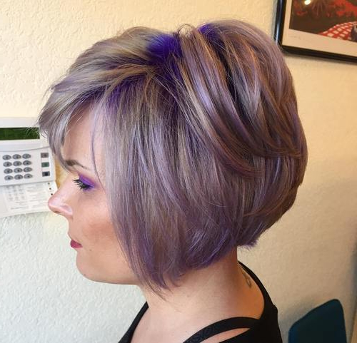 22 Sassy Purple Highlighted Hairstyles (For Short, Medium, Long Hair Within Lavender Hairstyles For Women Over (View 8 of 25)