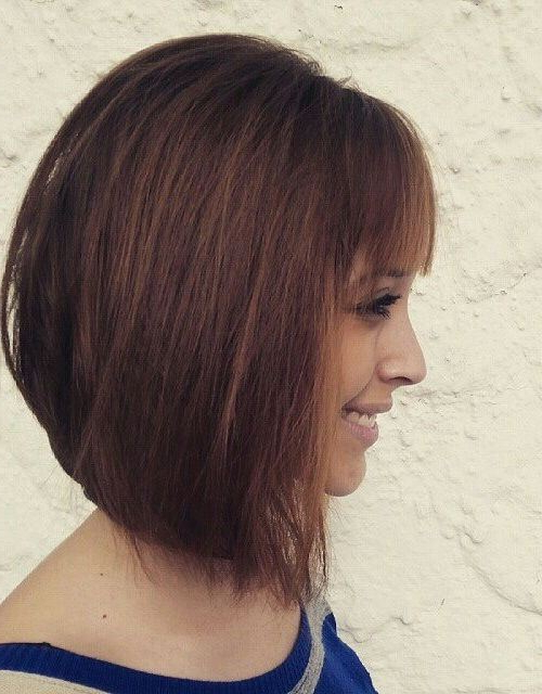 22 Stylish Styles For Inverted Bobs 2019 Within Sassy And Stacked Hairstyles (View 10 of 25)
