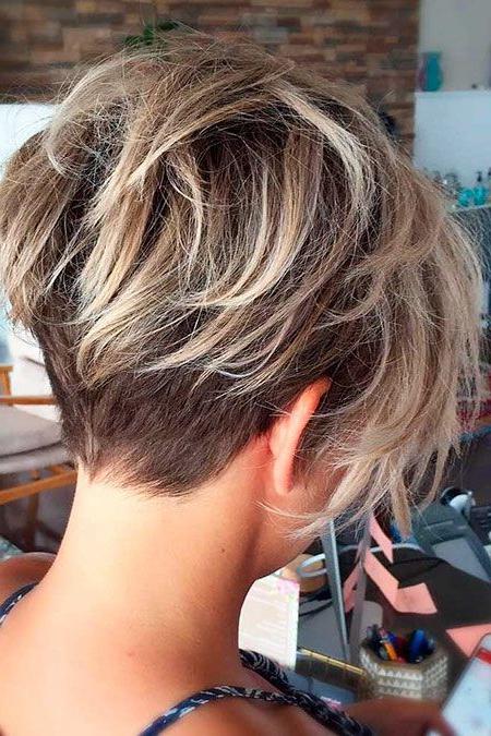 23 Short Trendy Hairstyles 2018   Pinterest   Messy Pixie Haircut Throughout Messy Pixie Bob Hairstyles (View 21 of 25)
