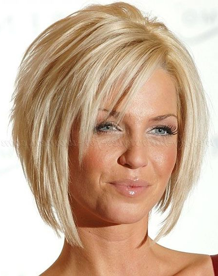 25 Best Short Straight Layered Bob Hairstyles | My Style | Pinterest Throughout Layered Bob Hairstyles For Fine Hair (View 11 of 25)