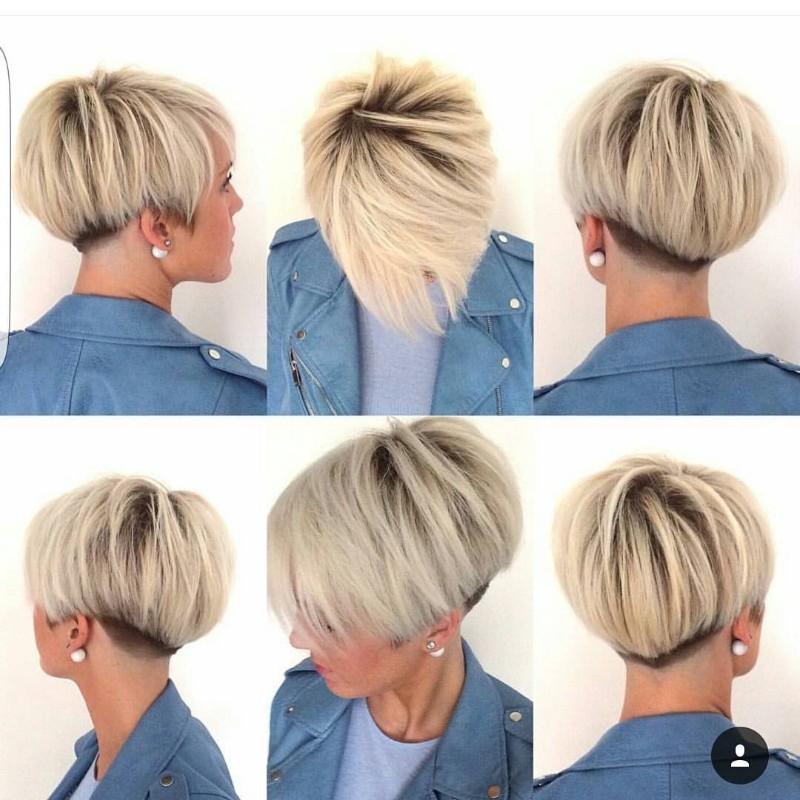 25 Edgy Pixie Undercut Ideas To Try Right Now! [October, 2018] For Asymmetrical Pixie Bob Hairstyles (View 13 of 25)