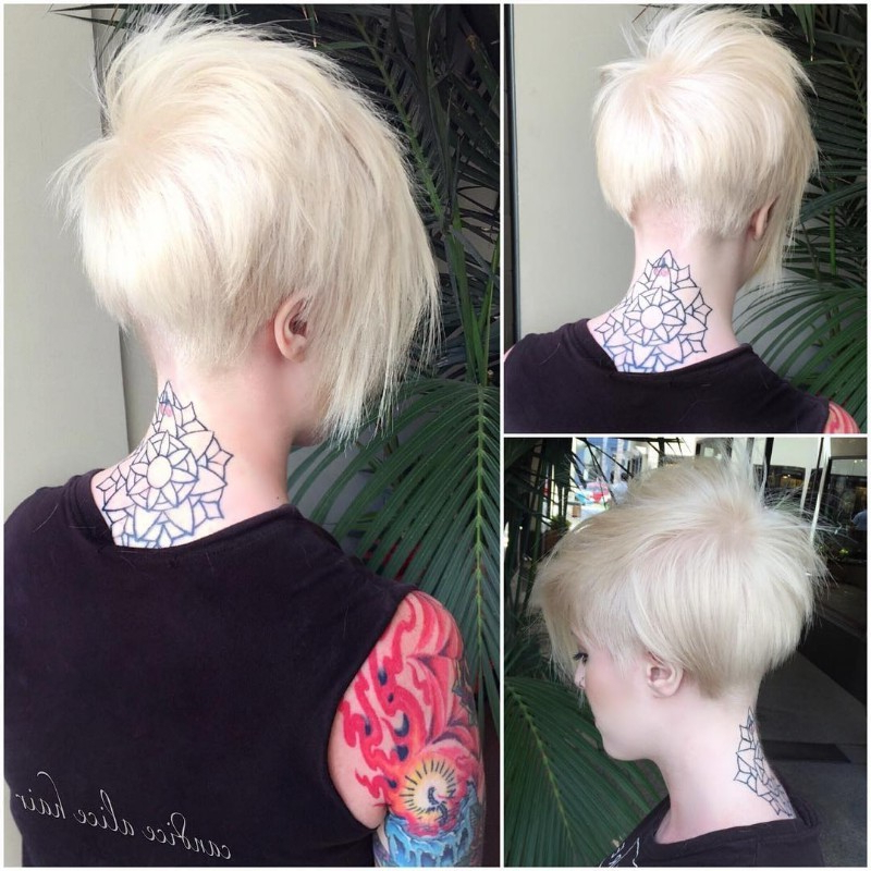 25 Edgy Pixie Undercut Ideas To Try Right Now! [October, 2018] Inside Pixie Bob Hairstyles With Nape Undercut (View 12 of 25)