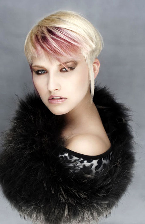 25 Short Hair Color Trends 2012 – 2013 | Short Hairstyles 2018 In Two Tone Spiky Short Haircuts (View 23 of 25)
