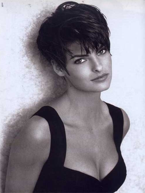25 Short Haircuts And Hairstyles For Thick Hair – The Xerxes Within Gray Pixie Hairstyles For Thick Hair (View 16 of 25)