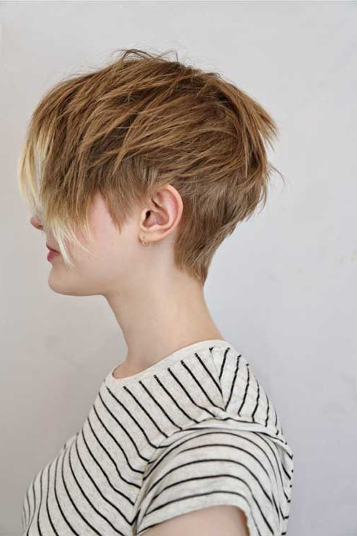 25 Short Layered Pixie Haircuts | Hairstyles & Haircuts 2016 – 2017 Inside Layered Pixie Hairstyles With Textured Bangs (View 4 of 25)