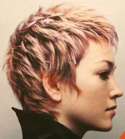 25 Short Layered Pixie Haircuts | Hairstyles & Haircuts 2016 – 2017 Throughout Textured Pixie Hairstyles With Highlights (View 12 of 25)