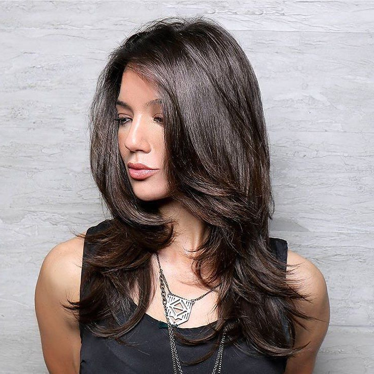 25 Stunning Brazilian Blowout Hairstyles – Unbelievable Before And After Pertaining To Perfect Blow Out Hairstyles (View 13 of 25)