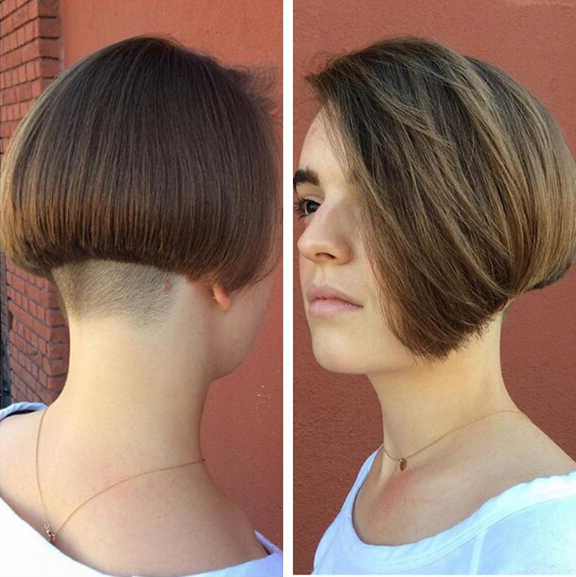 25 Stylish Bob Hairstyles With Bangs –Style & Colour In Perfect Inside Angled Undercut Hairstyles (View 1 of 25)