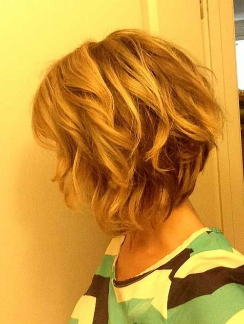 25 Trendy Short Textured Haircuts To Try | Get Yo Her Did regarding Short Wavy Inverted Bob Hairstyles