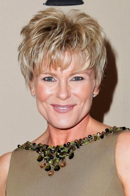 26 Fabulous Short Hairstyles For Women Over 50 | Hair | Pinterest Throughout Blonde Pixie Haircuts For Women 50+ (View 19 of 25)