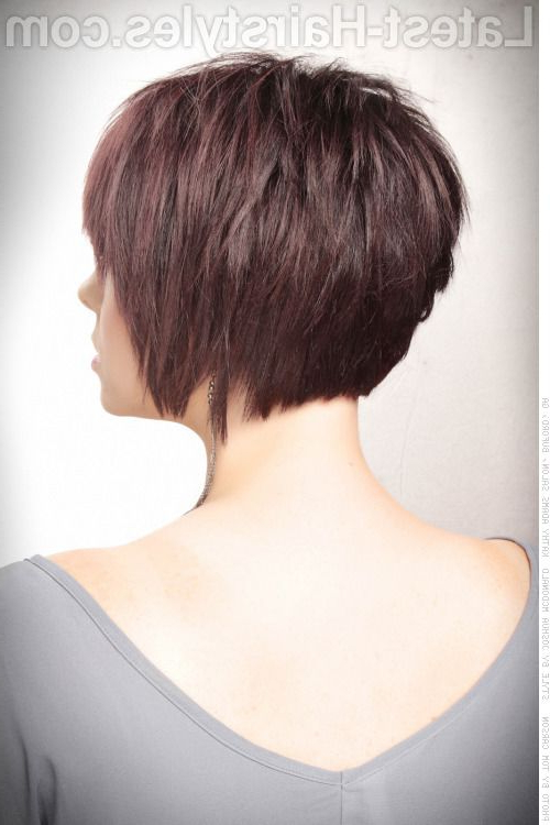 26 Flattering Short Hair With Bangs To Try For 2018 | Great Intended For Layered Pixie Hairstyles With Textured Bangs (View 22 of 25)