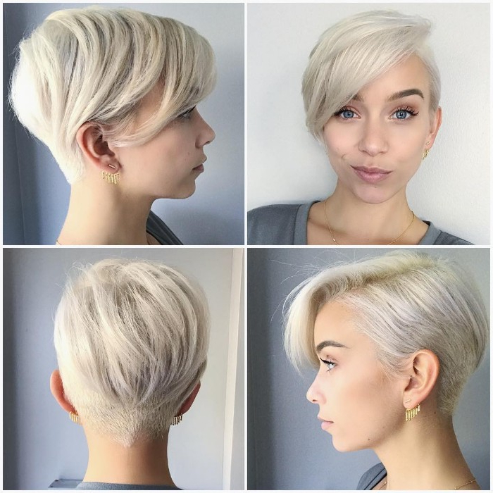30 Female Undercut Hairstyles For Any Face Shape [October, 2018] Intended For Pixie Bob Hairstyles With Nape Undercut (View 6 of 25)