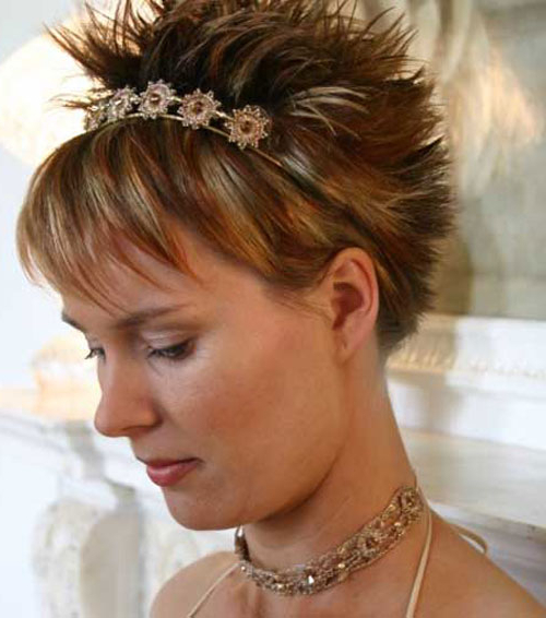 30 Funky Short Spiky Hairstyles For Women – Cool & Trendy Short Throughout Two Tone Spiky Short Haircuts (View 5 of 25)