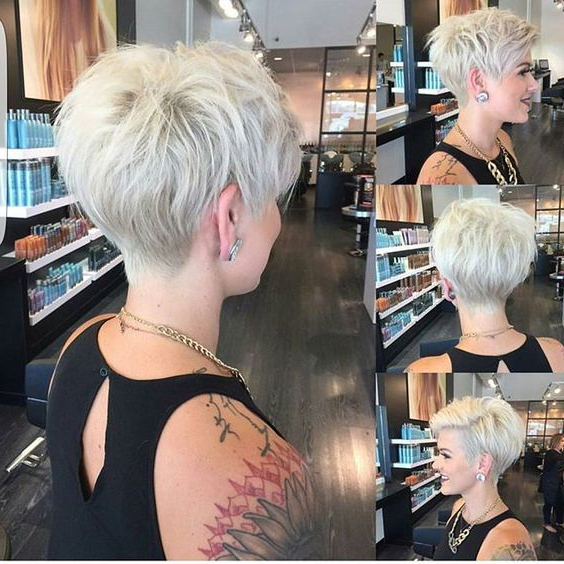 30 Hottest Pixie Haircuts 2019 – Classic To Edgy Pixie Hairstyles With Regard To Edgy Pixie Bob Hairstyles (View 10 of 25)
