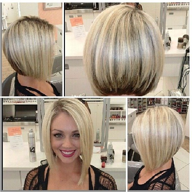30 Must Try Medium Bob Hairstyles – Popular Haircuts Within Short Asymmetrical Bob Hairstyles (View 20 of 25)
