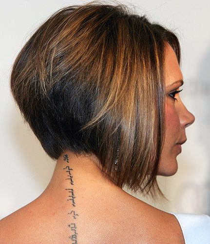 30 Stacked Bob Haircuts For Sophisticated Short Haired Women In Rounded Bob Hairstyles With Stacked Nape (View 8 of 25)