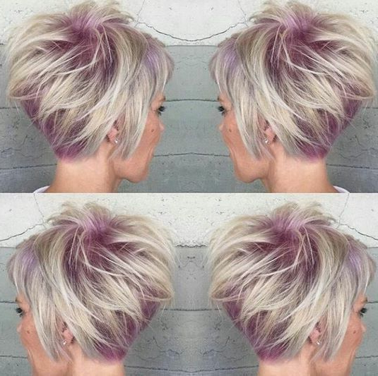 30 Trendy Stacked Hairstyles For Short Hair – Practicality Short With Sassy And Stacked Hairstyles (View 3 of 25)