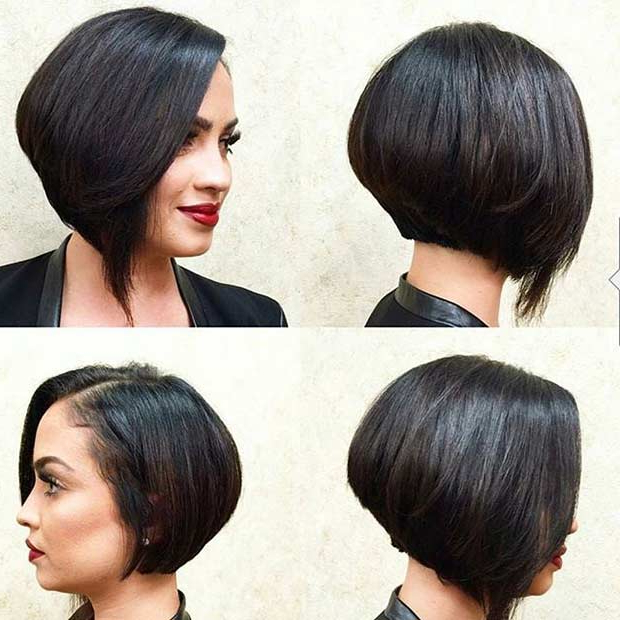 31 Short Bob Hairstyles To Inspire Your Next Look | Page 2 Of 3 For Short Asymmetrical Bob Hairstyles (View 7 of 25)