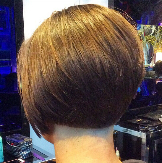 32 Latest Bob Haircuts For The Season – Pretty Designs Throughout Rounded Bob Hairstyles With Stacked Nape (View 10 of 25)