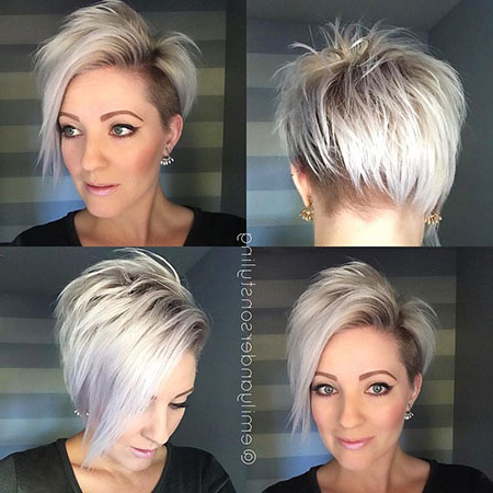 33 Short Undercut Hairstyles | Short Hairstyles & Haircuts 2018 With Edgy Pixie Bob Hairstyles (View 11 of 25)