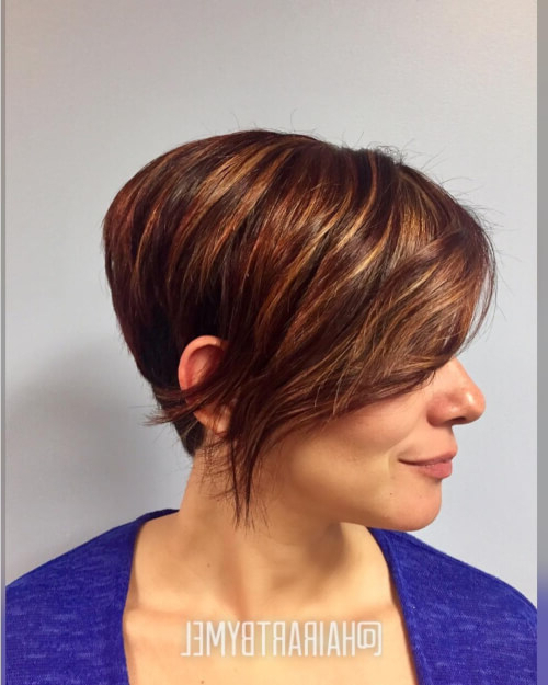 34 Youthful Hairstyles For Women Over 50 In 2018 Intended For Pixie Undercut Hairstyles For Women Over (View 10 of 25)