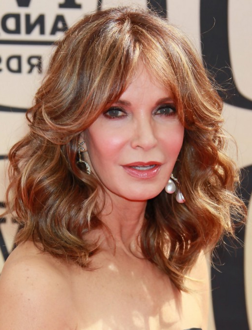 35 Pretty Hairstyles For Women Over 50: Shake Up Your Image & Come Regarding Dark Brown Hairstyles For Women Over  (View 24 of 25)