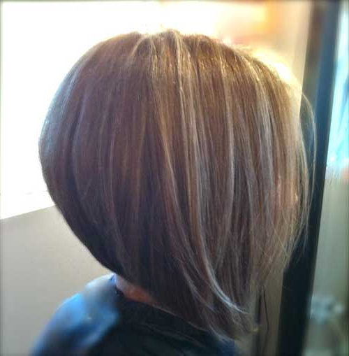 35 Short Stacked Bob Hairstyles | Short Hairstyles 2018 – 2019 Intended For Stacked Bob Hairstyles With Bangs (View 20 of 25)