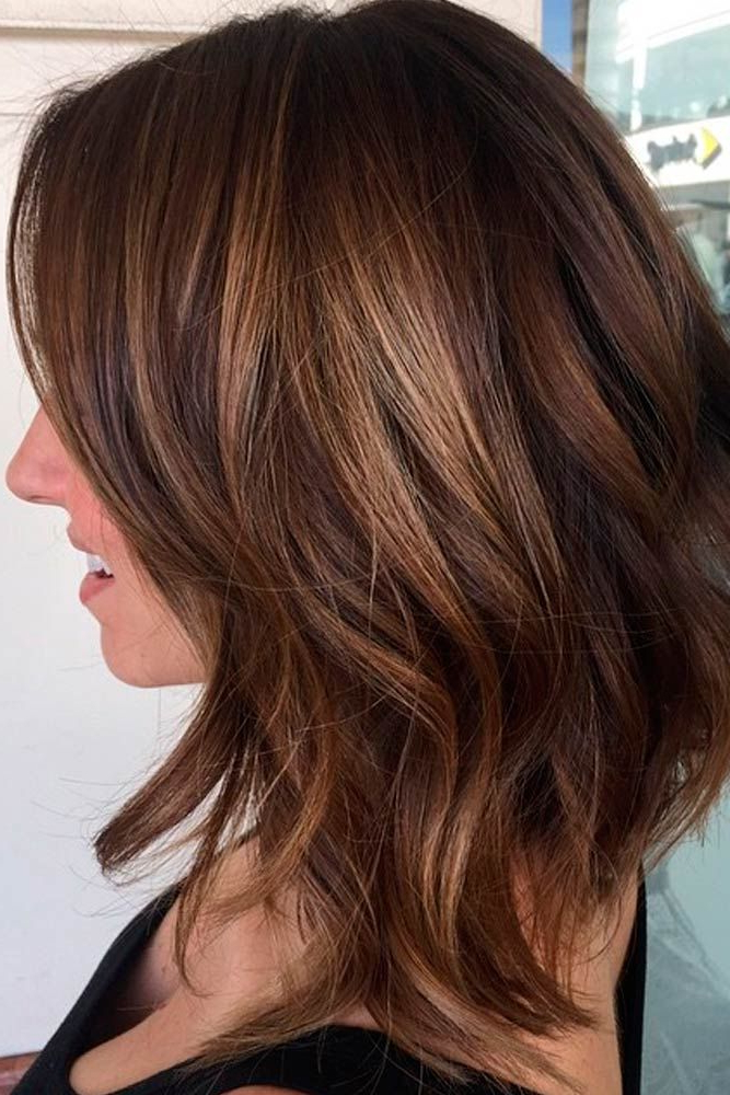 36 Chic Medium Length Layered Hair | Hair Envy | Pinterest | Hair With Regard To Chic Chocolate Layers Hairstyles (View 7 of 25)
