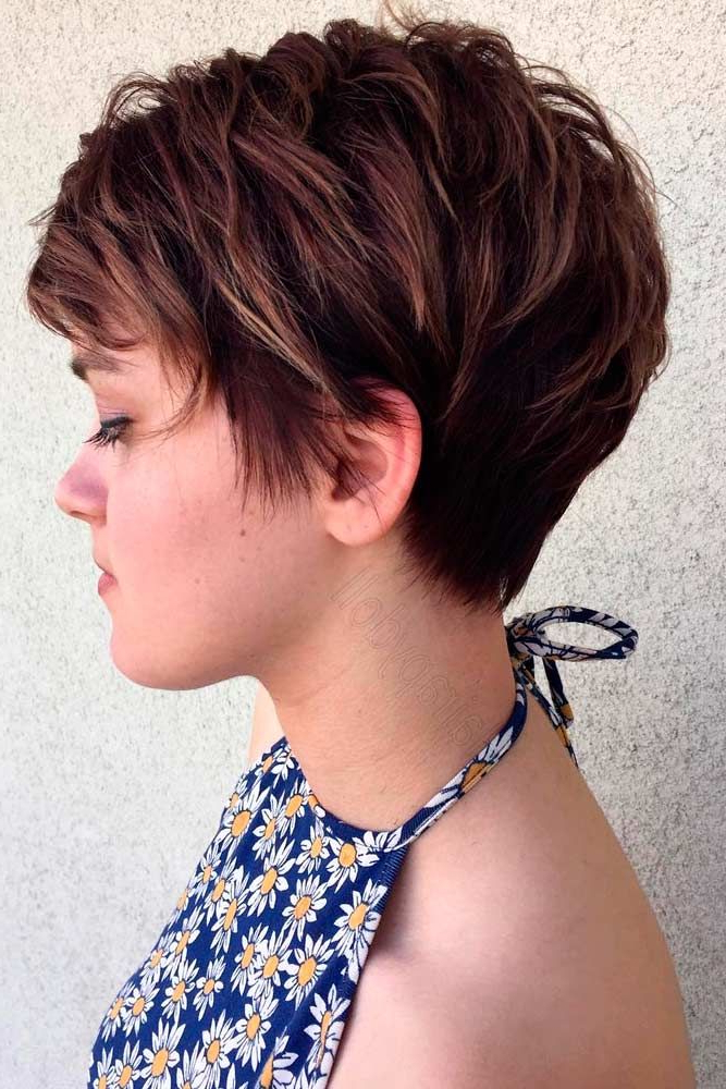 39 Short Layered Hairstyles For Women | Hair | Pinterest | Hair Regarding Textured Pixie Hairstyles With Highlights (View 15 of 25)
