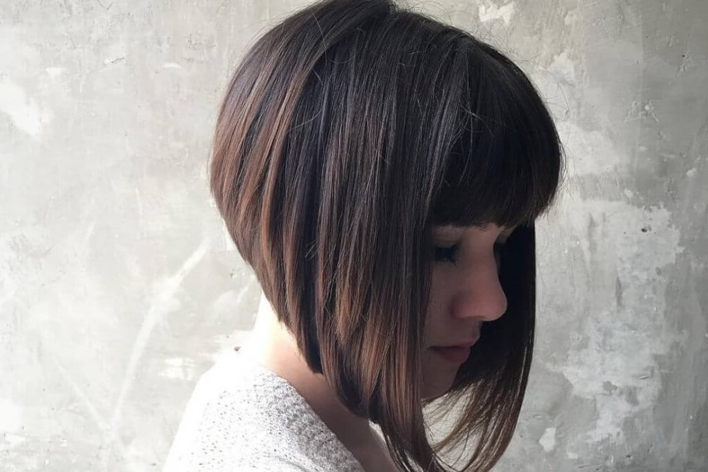 40 Cute Short Haircuts For Short Hair (Updated For 2018) Within Gray Bob Hairstyles With Delicate Layers (View 13 of 25)