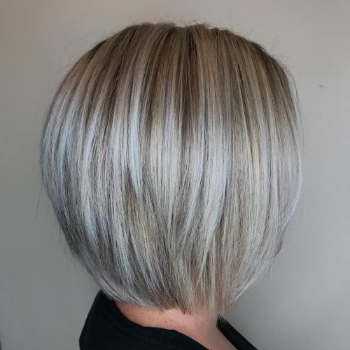 40 Fabulous Choppy Bob Hairstyles – Page 23 Of 41 – Fallbrook247 With Regard To Sleek Gray Bob Hairstyles (View 5 of 25)