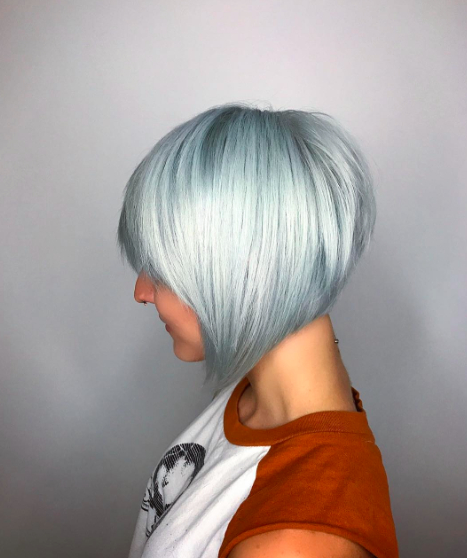 40 Short Hairstyles For Fine Hair 2017 – Herinterest/ With Regard To Gray Bob Hairstyles With Delicate Layers (View 24 of 25)