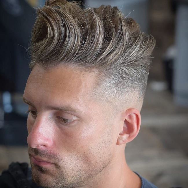 40 Spectacular Quiff Hairstyle Ideas – The Most Iconic Men's Haircut Pertaining To Oluminous Classic Haircuts (View 21 of 25)