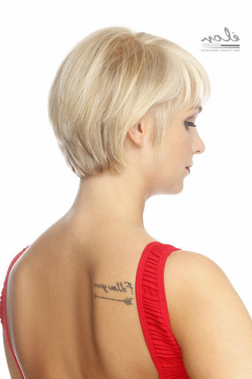 43 Perfect Short Hairstyles For Fine Hair In 2018 Regarding Wispy Silver Bob Hairstyles (View 24 of 25)