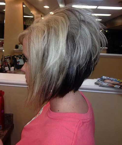 45 Flawless Short Stacked Bobs To Steal The Focus Instantly Intended For Stacked Bob Hairstyles With Bangs (View 13 of 25)