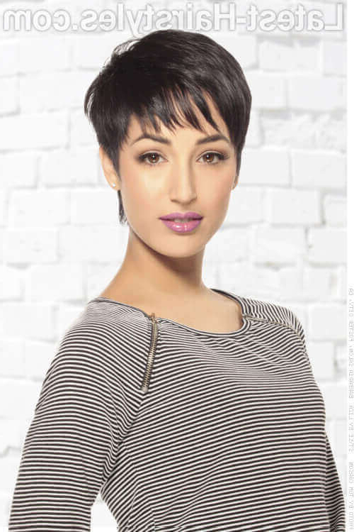 47 Popular Short Choppy Hairstyles For 2018 With Short Choppy Hairstyles For Thick Hair (View 15 of 25)
