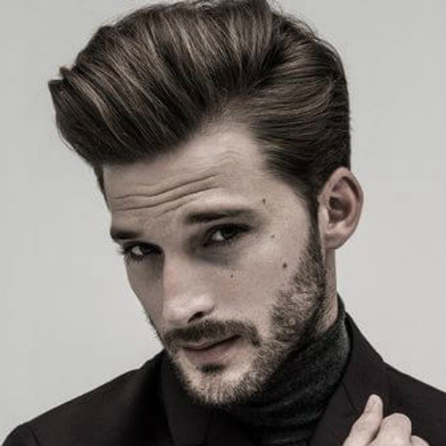 50 Charming Slick Back Hairstyles For Men – Men Hairstyles World Within Oluminous Classic Haircuts (View 9 of 25)