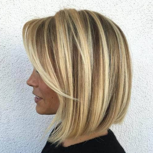 50 Fresh Short Blonde Hair Ideas To Update Your Style In 2018 With Messy Pixie Hairstyles With Chunky Highlights (View 13 of 25)