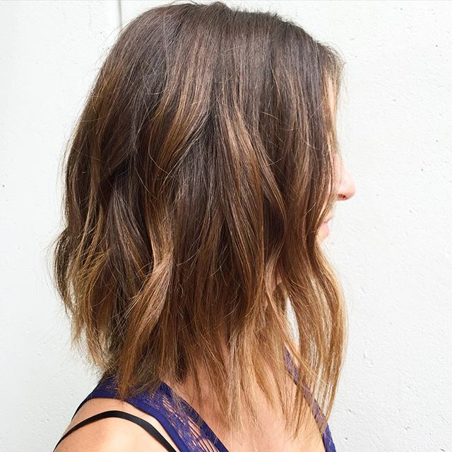 50 Hottest Bob Haircuts & Hairstyles For 2019 – Bob Hair With Blonde Balayage Bob Hairstyles With Angled Layers (View 13 of 25)