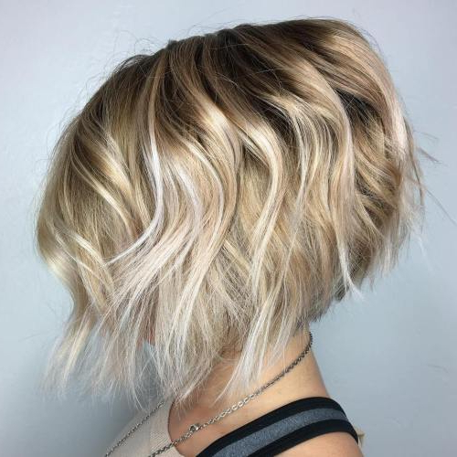 50 Inverted Bob Haircuts Trending Now – Fallbrook247 Inside Rounded Bob Hairstyles With Stacked Nape (View 16 of 25)