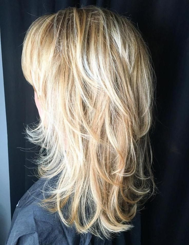 50 Lovely Long Shag Haircuts For Effortless Stylish Looks Inside Gorgeous Feathered Look Hairstyles (View 13 of 25)